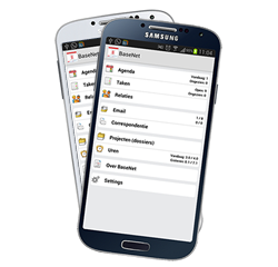 BaseNet App voor Android en iPhone