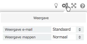 Instellingen voor weergave e-mail