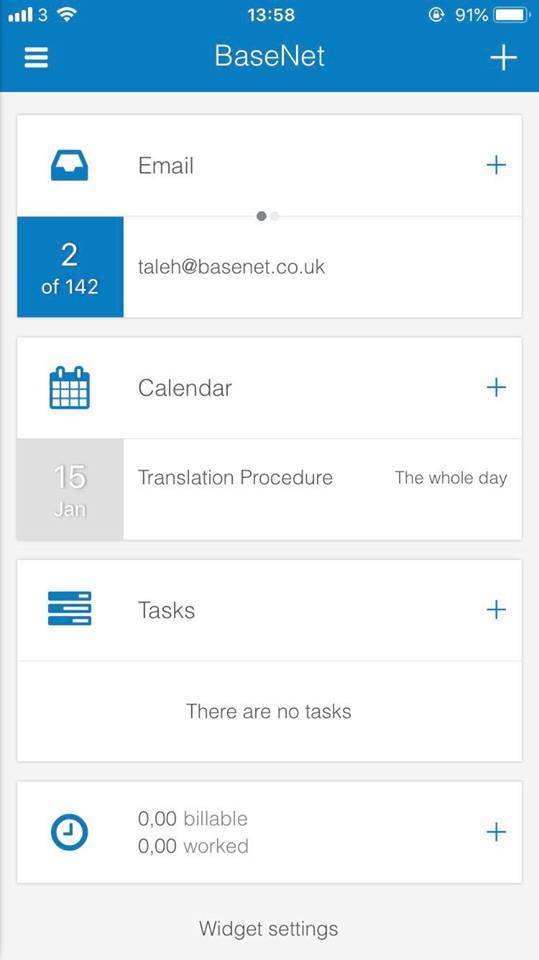 BaseNet Mobile App