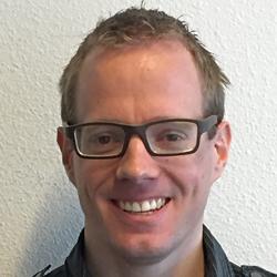Bjorn van der Maade, partycoördinator bij De Kort Catering