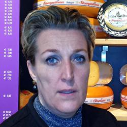 Denise Stoof, eigenaar bij De ster kaas & culinair
