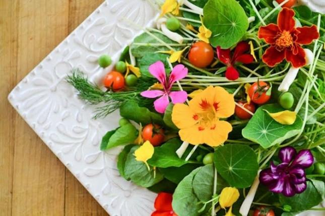 Eetbare bloemen: altijd veilig?