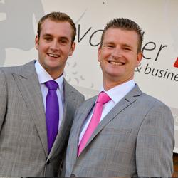 Laurens en Henry van der Loo, eigenaren bij Van der Loo Party & Business Events