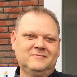 Michel Koster, teammanager bij De Schuylenburgh (Azora)