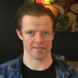 Roy van Veghel, eigenaar bij Eetpaleis 't Vosje Groote Wielen