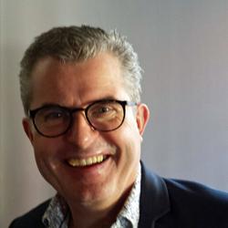 Rob Polman, eigenaar bij Eetwinkel Polly