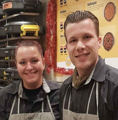 Lesley Droog en Karin Weber, ondernemers bij Kippie Spijkenisse
