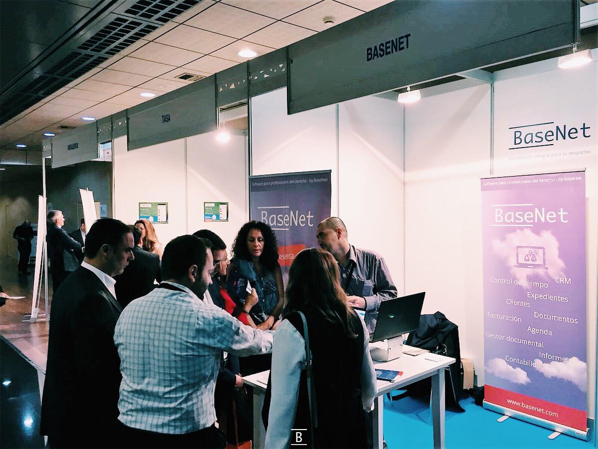 Basenet en el 13 congreso jurídico ICAMALAGA, en Marbella , octubre 2017
